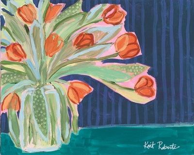 Tulips for Maxine II art print by Kait Roberts for $56.25 CAD