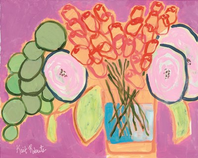 Flowers for Maude I art print by Kait Roberts for $56.25 CAD