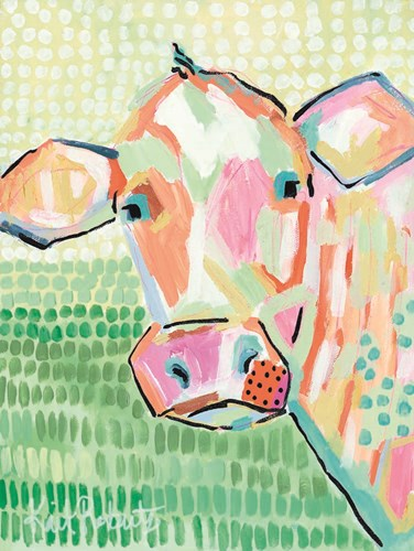Moo Series:  Peggy art print by Kait Roberts for $41.25 CAD