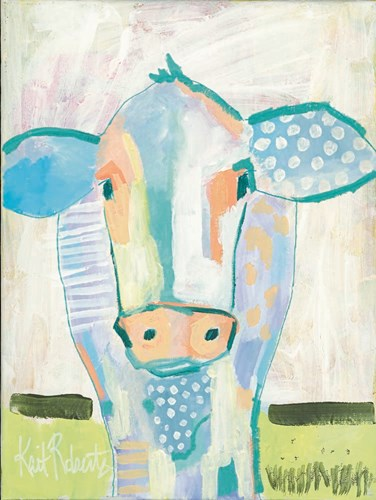 Moo Series:  Laverne art print by Kait Roberts for $41.25 CAD