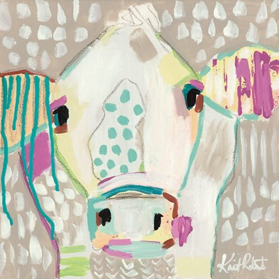 Moo Series:  Georgia art print by Kait Roberts for $35.00 CAD