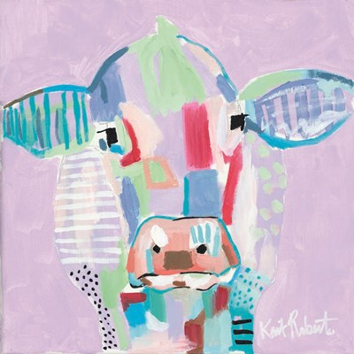 Moo Series:  Tilly art print by Kait Roberts for $35.00 CAD