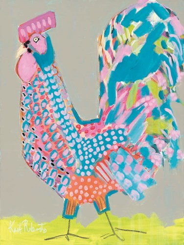 Ralph the Rooster art print by Kait Roberts for $41.25 CAD