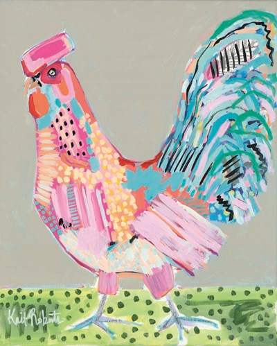 Cluck Norris art print by Kait Roberts for $56.25 CAD