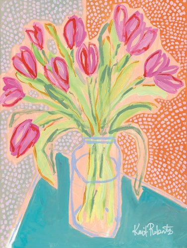 Tulips for Corie art print by Kait Roberts for $41.25 CAD