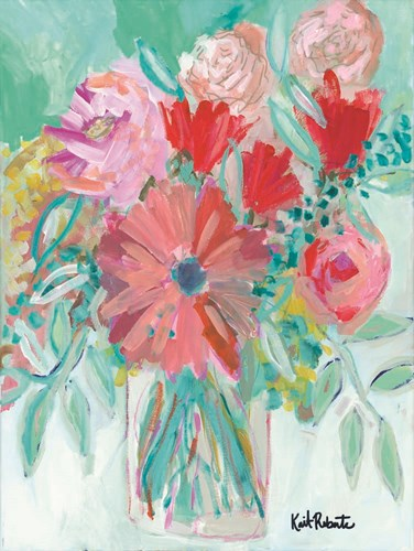 Farmer's Market Bouquet art print by Kait Roberts for $41.25 CAD