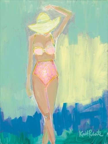 Sunbather Series:  Summer Sway art print by Kait Roberts for $41.25 CAD