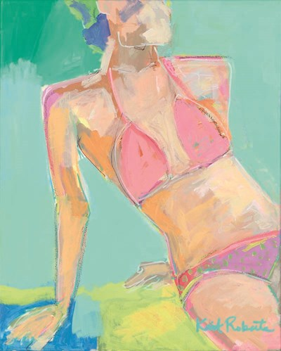 Sunbather Series:  Following the Sun art print by Kait Roberts for $56.25 CAD
