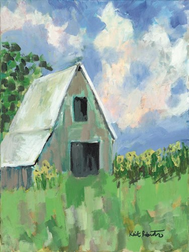 June Fields art print by Kait Roberts for $41.25 CAD