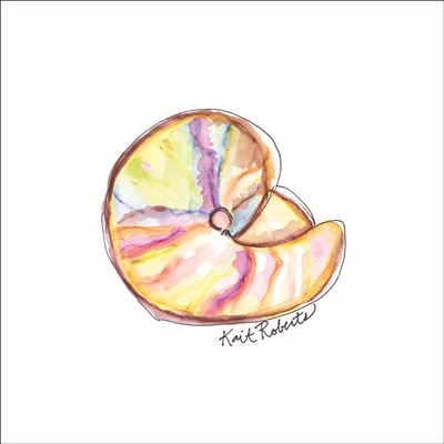 Shell Yes! art print by Kait Roberts for $35.00 CAD
