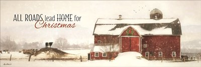 All Roads Lead Home for Christmas art print by Lori Deiter for $41.25 CAD