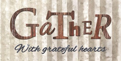 Gather with Graceful Hearts art print by Lori Deiter for $37.50 CAD