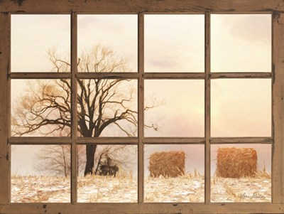 View of Winter Fields art print by Lori Deiter for $41.25 CAD