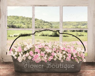 Flower Boutique art print by Lori Deiter for $56.25 CAD