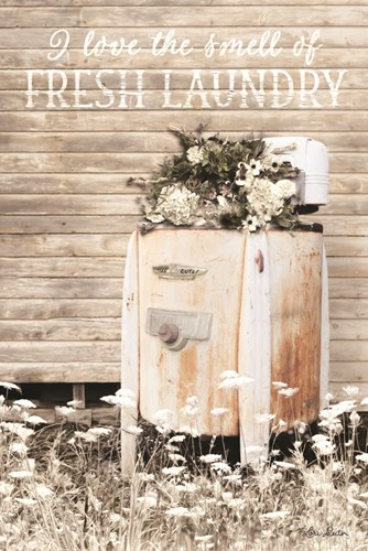I Love the Smell of Fresh Laundry art print by Lori Deiter for $43.75 CAD