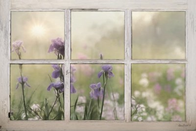 Framed Flowers art print by Lori Deiter for $43.75 CAD