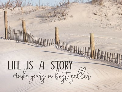 Life is a Story art print by Lori Deiter for $53.75 CAD