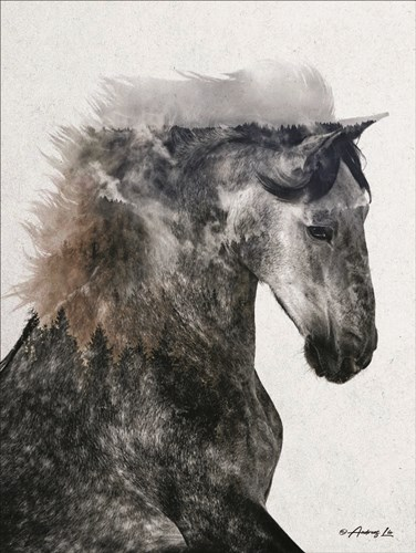 Proud Stallion art print by Andreas Lie for $41.25 CAD