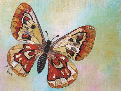 Wings of Gold I art print by Lisa Morales for $41.25 CAD