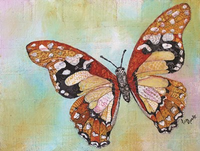 Wings of Gold II art print by Lisa Morales for $41.25 CAD