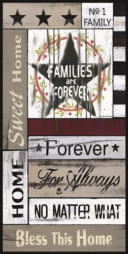 Families are Forever art print by Linda Spivey for $42.50 CAD