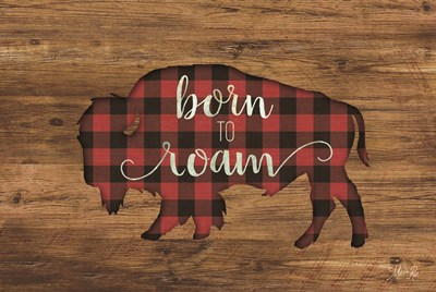 Born to Roam Bison art print by Marla Rae for $43.75 CAD