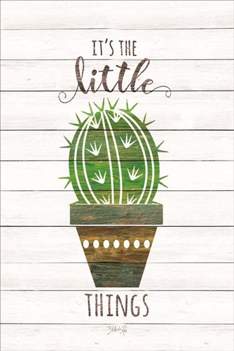It's the Little Things art print by Marla Rae for $43.75 CAD