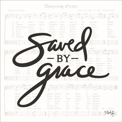 Saved by Grace art print by Marla Rae for $35.00 CAD