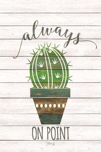 Always on Point art print by Marla Rae for $43.75 CAD