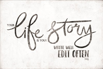 Life Story art print by Marla Rae for $43.75 CAD