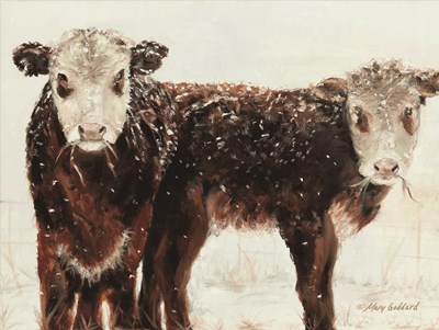 Winter and Wonder art print by Mary Goddard for $41.25 CAD