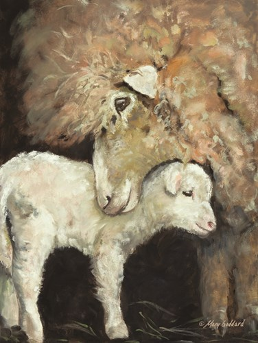 Love Ewe art print by Mary Goddard for $41.25 CAD