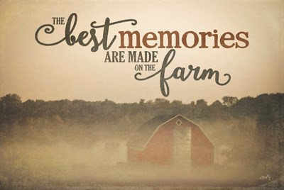 Farm Memories art print by Misty Michelle for $43.75 CAD