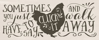 Cluck It art print by Misty Michelle for $37.50 CAD