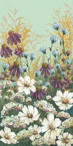 Floral Field Day art print by Michele Norman for $52.50 CAD