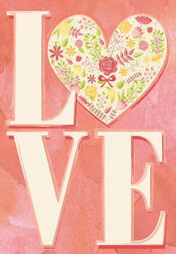 Love art print by Mollie B. for $42.50 CAD