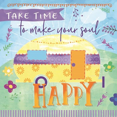 Take Time art print by Mollie B. for $35.00 CAD