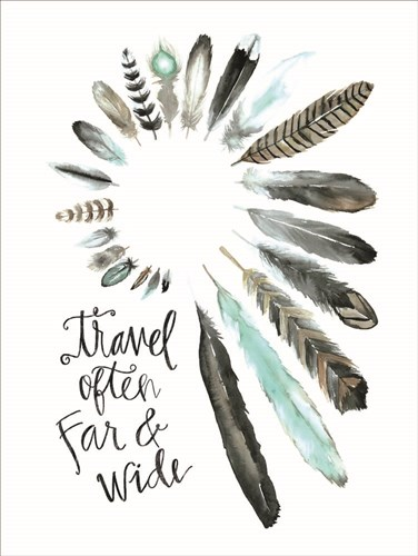 Travel Often Far and Wide art print by Masey St. Studios for $41.25 CAD