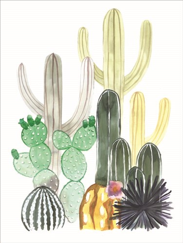 Cacti Party art print by Masey St. Studios for $41.25 CAD
