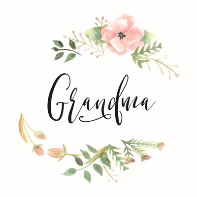 Grandma art print by Masey St. Studios for $35.00 CAD
