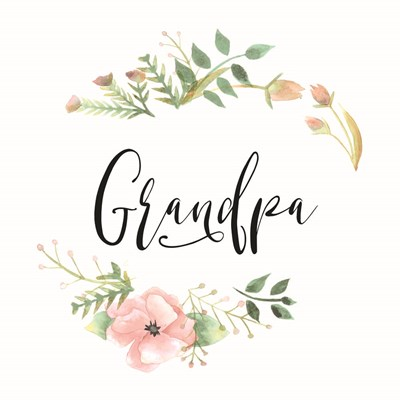 Grandpa art print by Masey St. Studios for $35.00 CAD