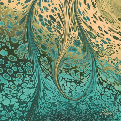 Fluid Vibrations art print by Nancy Wood for $35.00 CAD