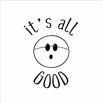 It's All Good art print by Lauren Rader for $48.75 CAD