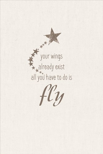 Is Fly art print by Lauren Rader for $43.75 CAD