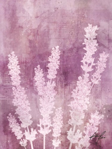 Lavender Blues I art print by Ken Roko for $41.25 CAD
