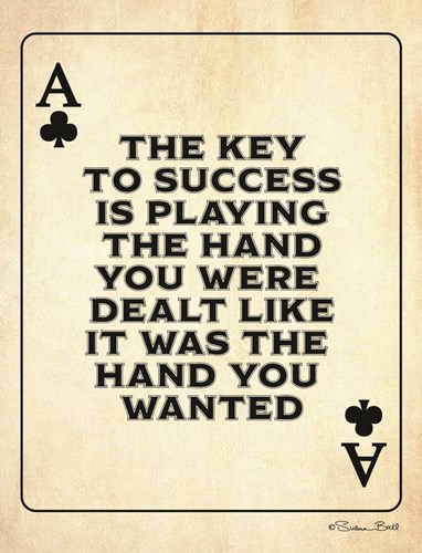 Ace of Clubs art print by Susan Ball for $45.00 CAD