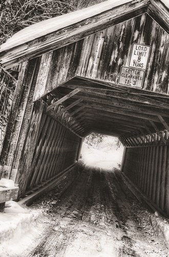Covered Bridge art print by Sophie 6 for $45.00 CAD