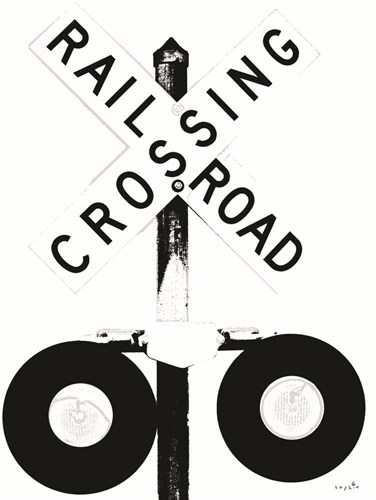 Railroad Crossing art print by Sophie 6 for $41.25 CAD