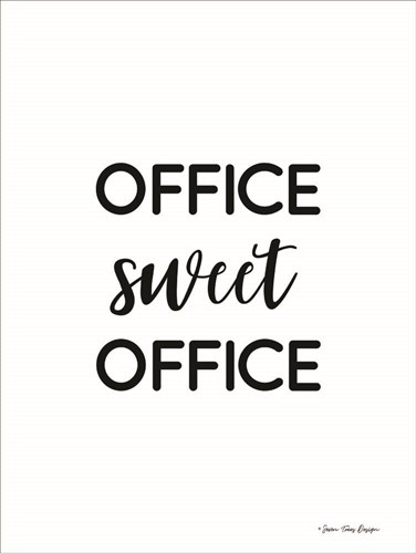 Office Sweet Office art print by Seven Trees Design for $41.25 CAD