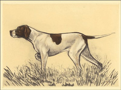 Hunting Dogs-Pointer art print by Andres Collot for $41.25 CAD